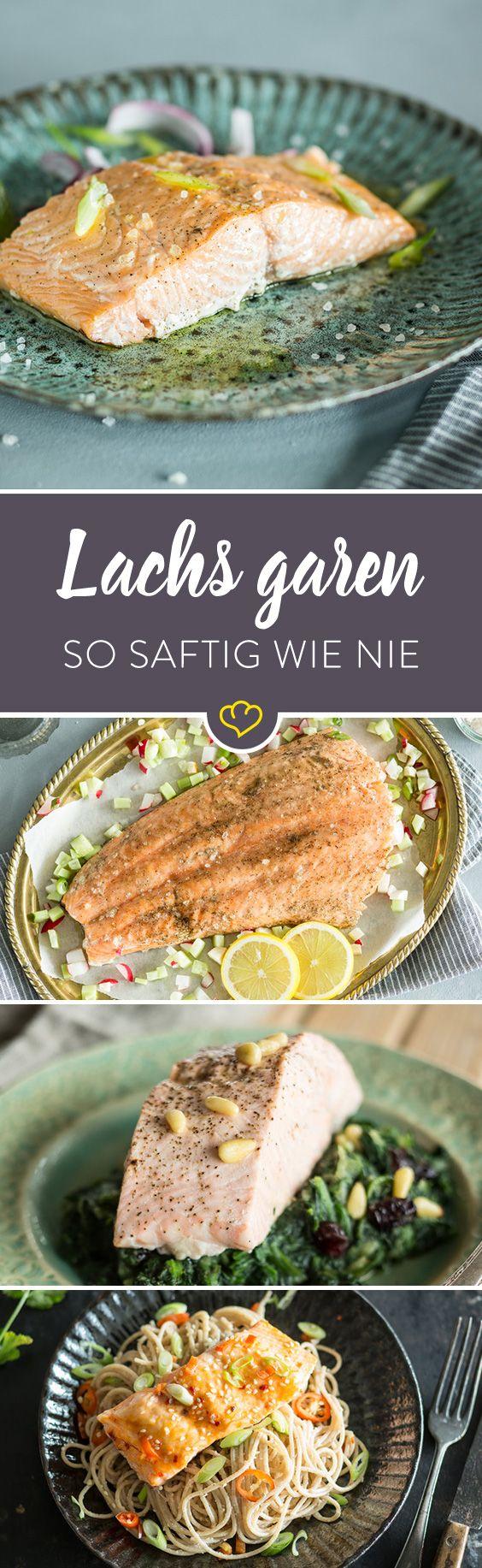 lachs garen so wird dein fisch nie wieder trocken healthy food besser leben pinterest. Black Bedroom Furniture Sets. Home Design Ideas