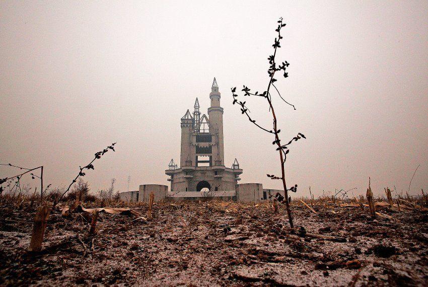 Nicht alle Märchen enden gut. Dieser Vergnügungspark in der Nähe von Peking...
