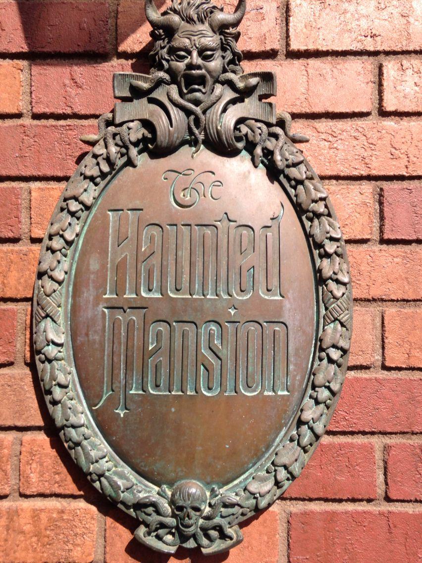 Haunted Mansion. Haunted mansion disneyland, Disney
