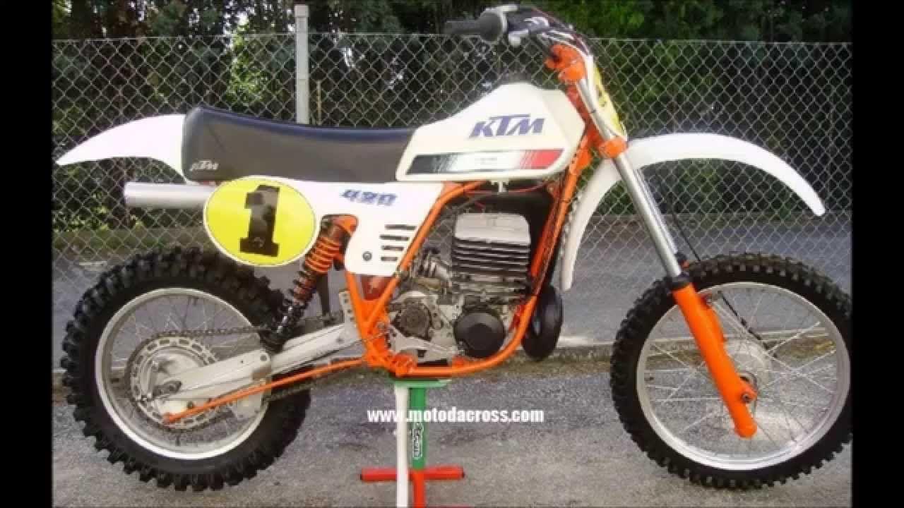Evolution Of Ktm Sx 360 380 495 500 From 1974 To 2001 Ktm Ktm Motorcycles Vintage Bikes