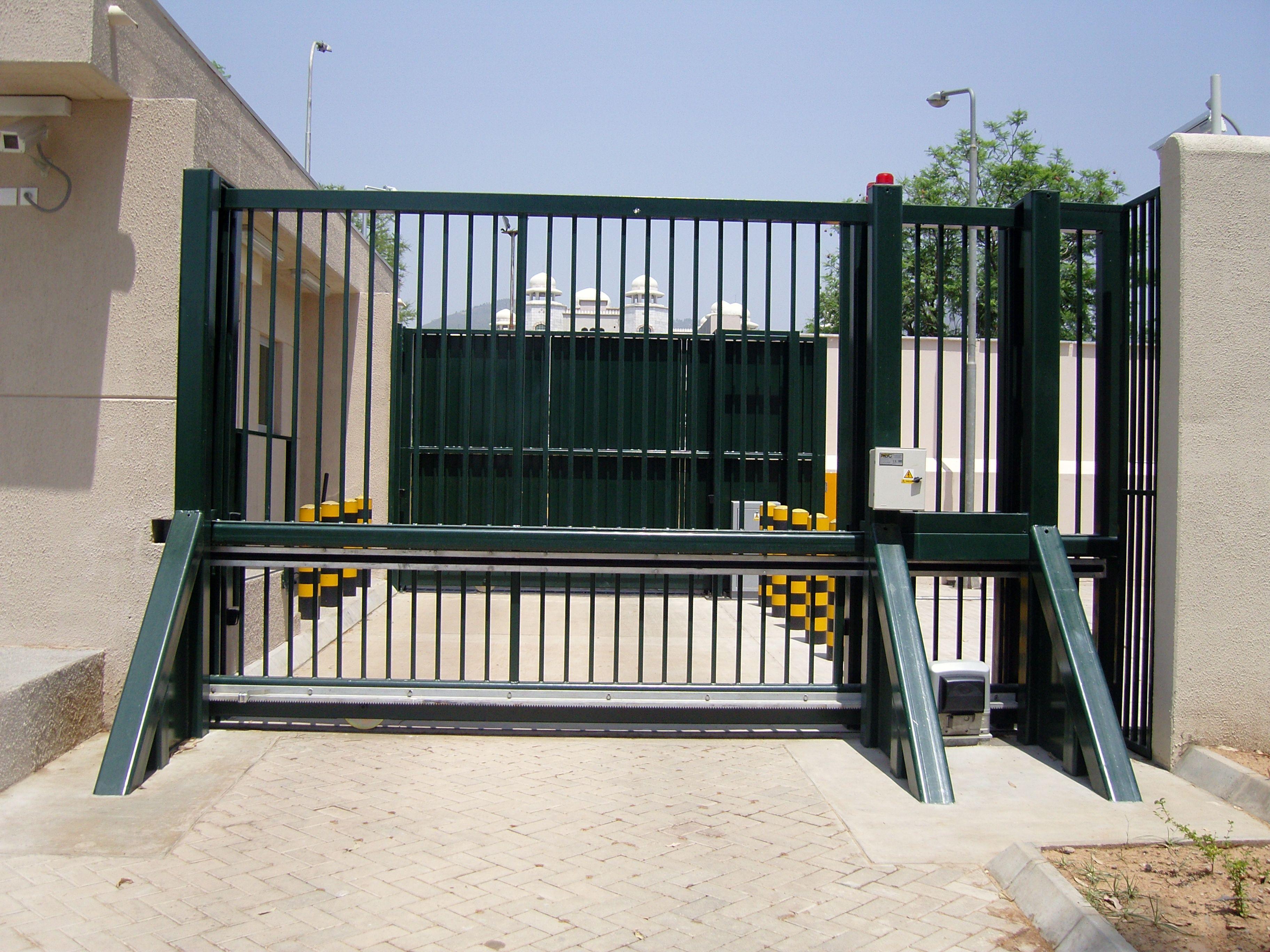 Kingcats Fence Company Sliding Gate Security Gates Security Fence