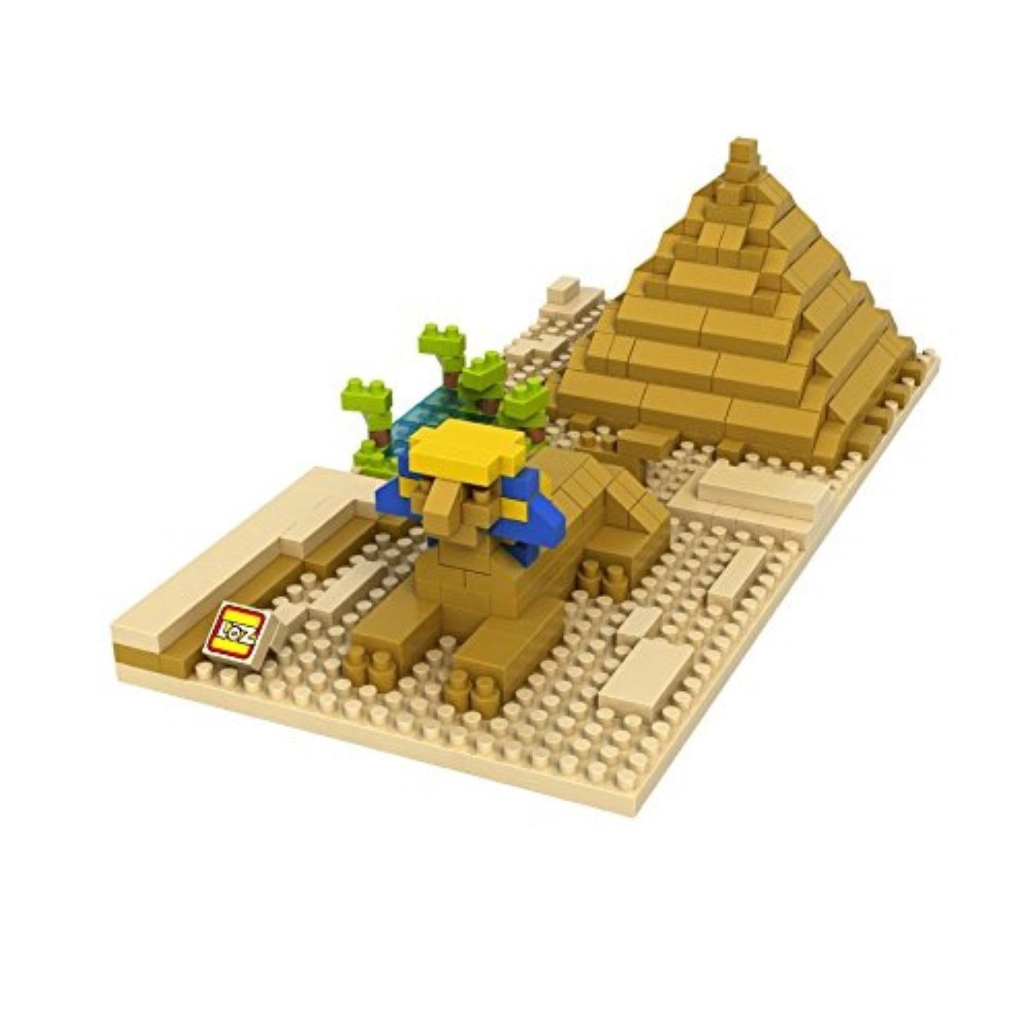 Ben 10 toys images  LOZ Diamond Blocks World Famous Architecture  Sphinx and Pyramid