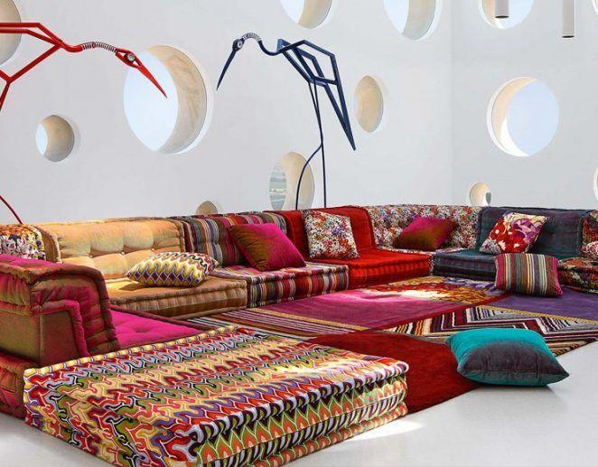 Deco Mix Match 101 Associations Qui Marchent Canape Marocain Deco Salon Et Salon Moderne