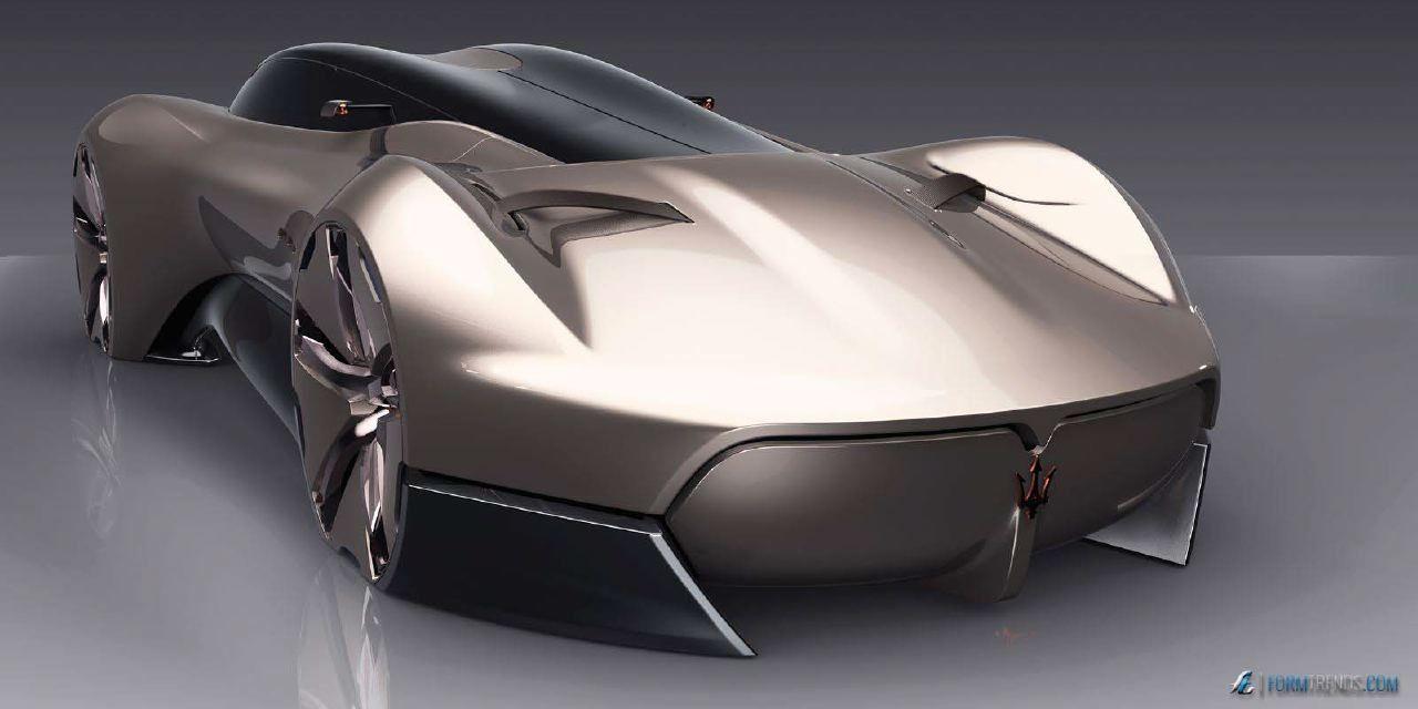 Maserati Hommage Concept by Pforzheim MA Graduate Francesco Gastaldi