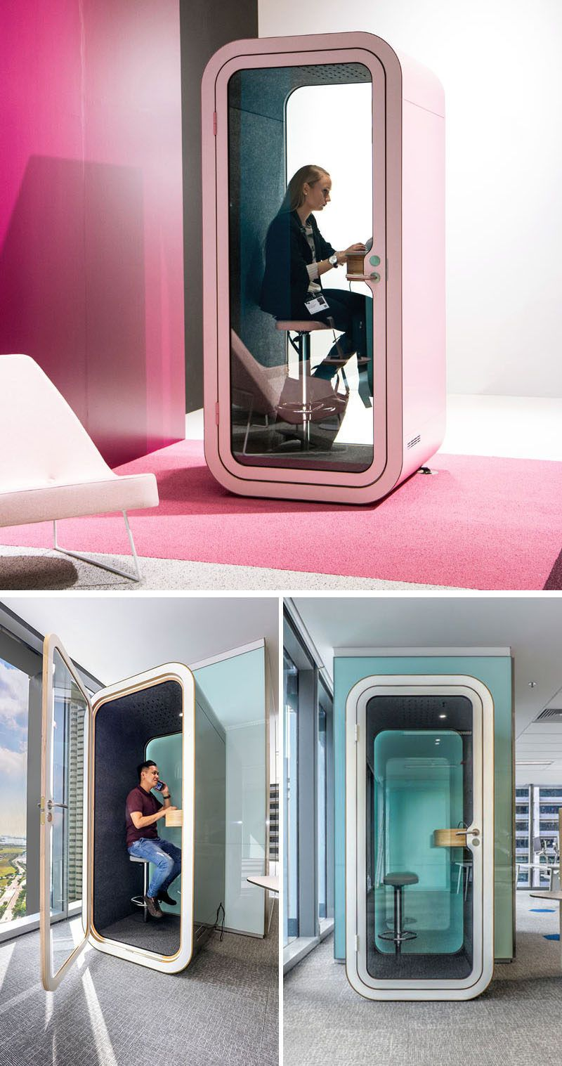 soundproofing office space. Framery, A Finnish Technology Startup, Designs And Manufactures Stylish Soundproof Phone Booths Meeting Soundproofing Office Space
