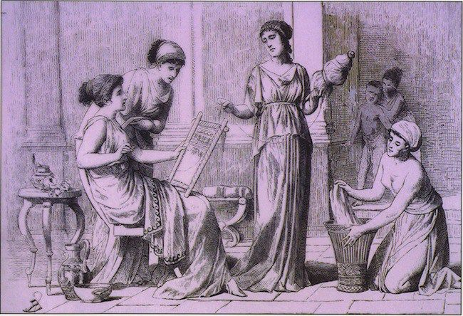 Athens women were controlled by men  Before they were