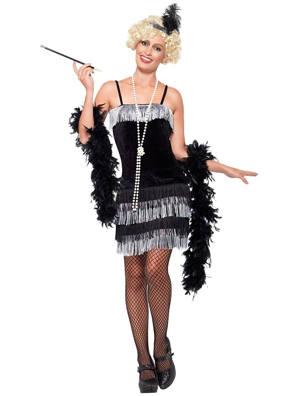 20er Jahre Charleston Flapper-Kleid - für Damen - XL: Amazon.de ...