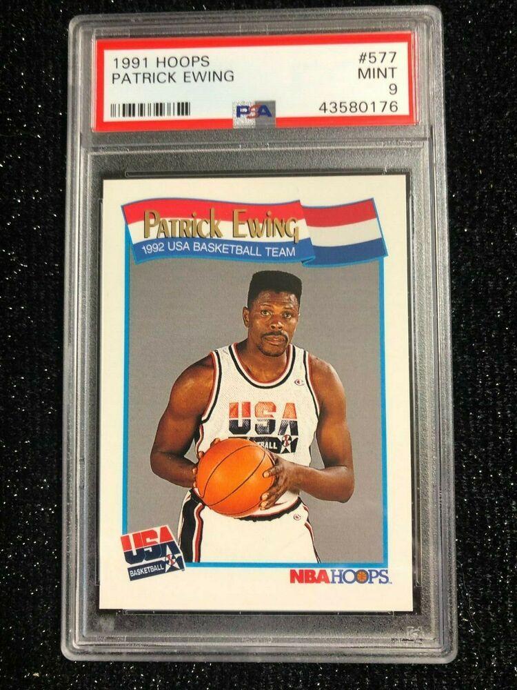 1991 Hoops Patrick Ewing 577 '92 U.S. Olympic Basketball