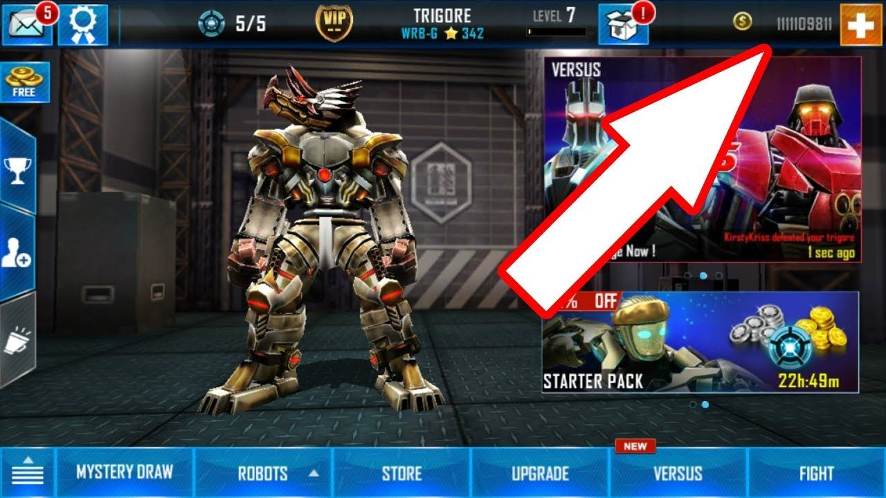 Real Steel World Robot Boxing Hack 2019 Unlimited Gold Silver