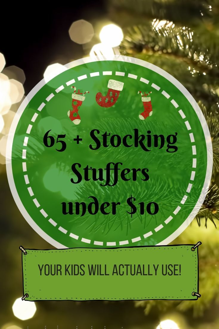 60 stocking stuffers under 10 with images toddler