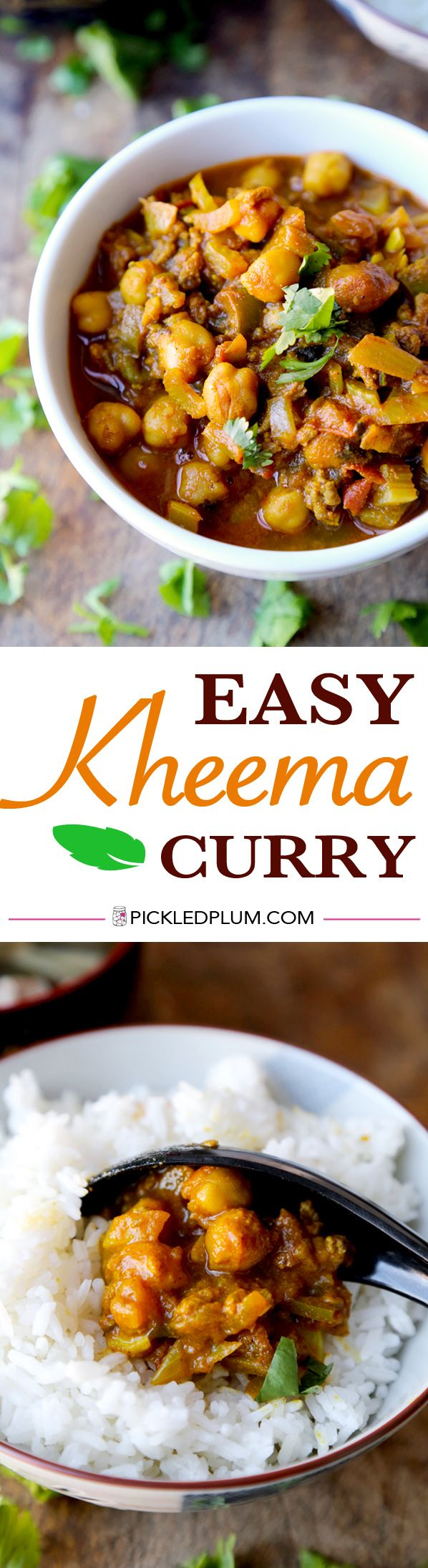 Ground Beef Curry Kheema Pickled Plum Food And Drinks Recipe Beef Steak Recipes Curry Recipes Healthy Eating Recipes