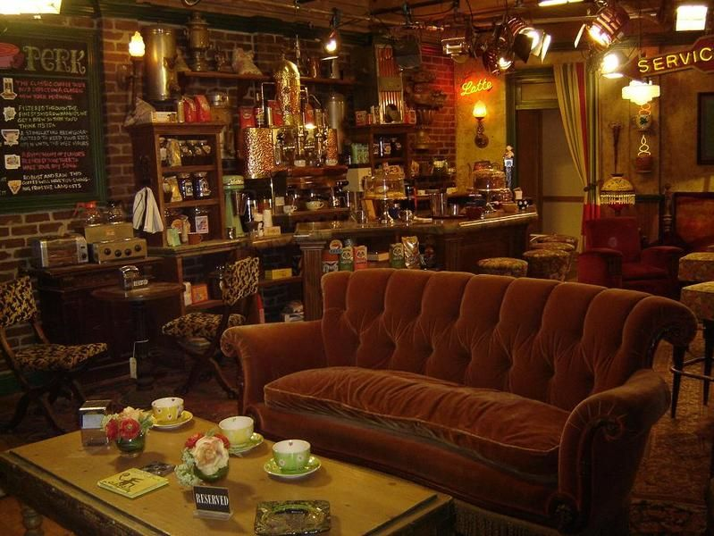 Central Perk Cozy Coffee Shop Coffee Shop Decor Friends Central Perk