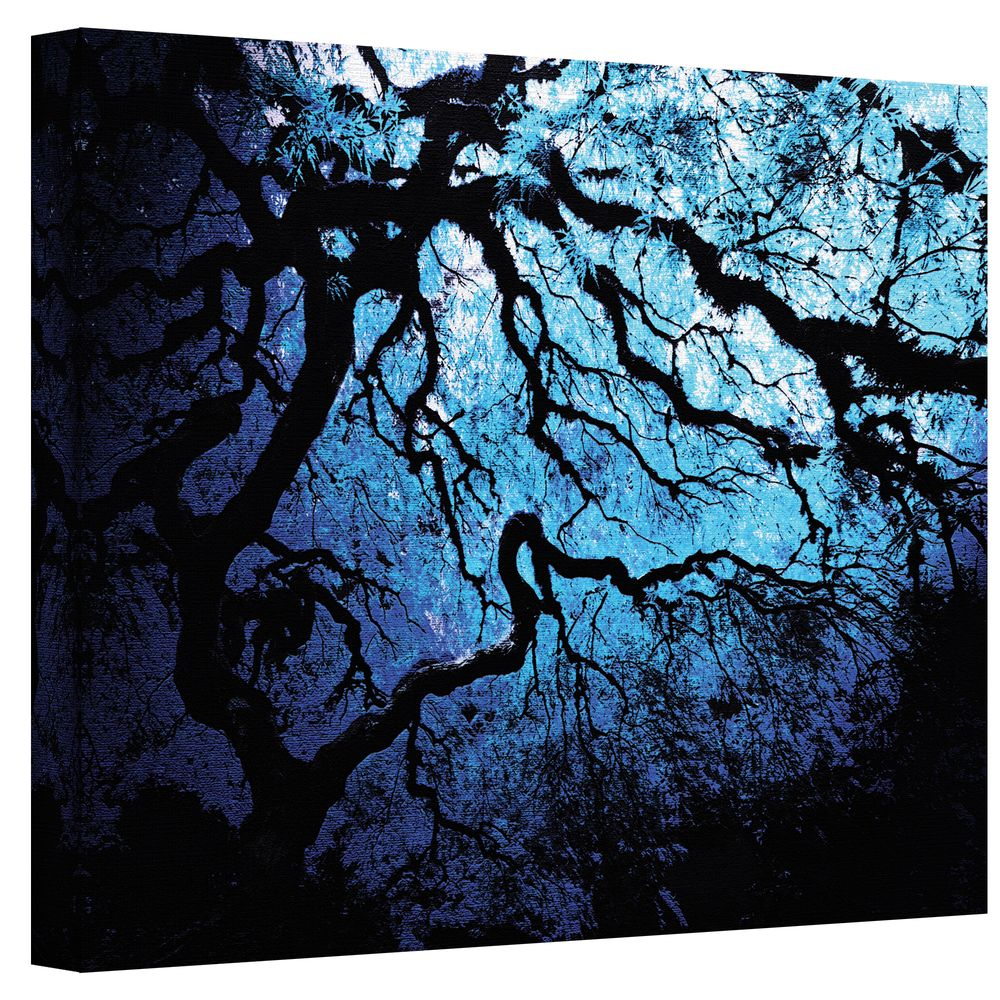 John Black 'Japanese Ice Tree' Gallery-Wrapped Canvas - Overstock™ Shopping - Top Rated ArtWall Canvas