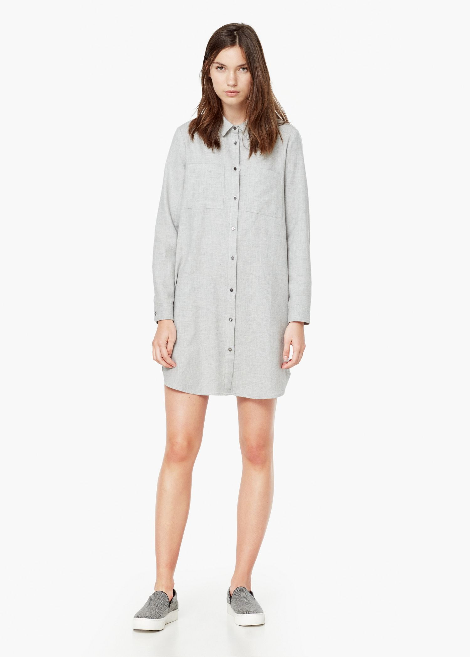 robe chemisier coton mango robes and minis