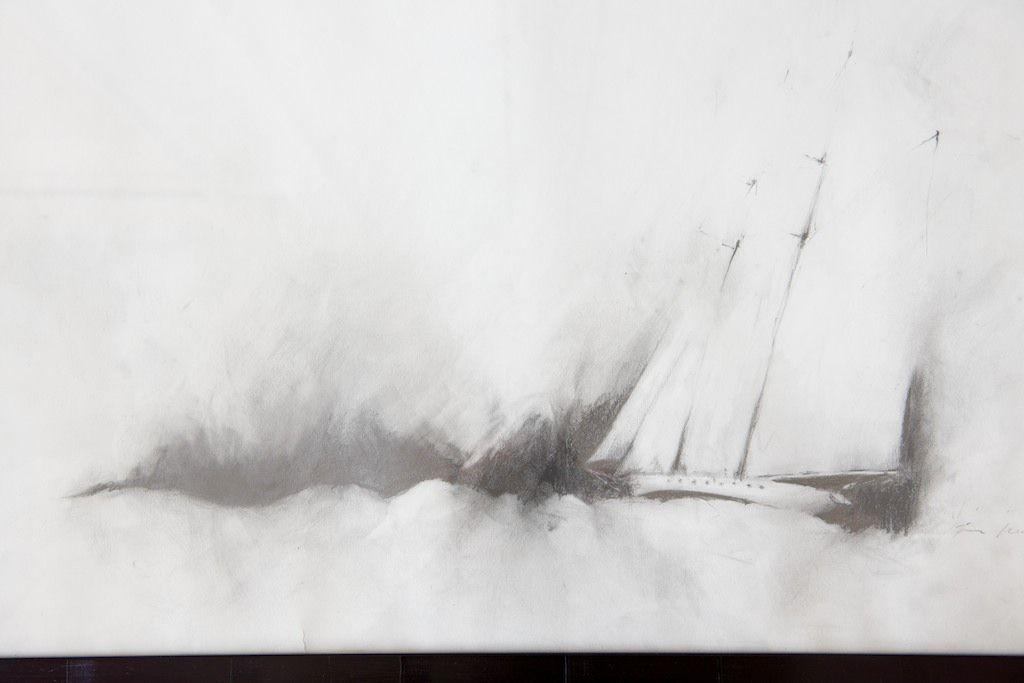 #illustration #art #design #travel #diary #idea #sail #yacht #annaklemm #photography