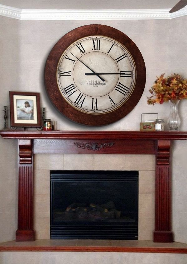 Huge Wall Clocks The Shillville Clock Company Extra Large Big Wall