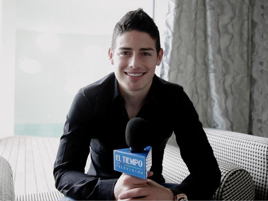 El Tiempo Television Pre Mundial 2014   James rodriguez, Rubio