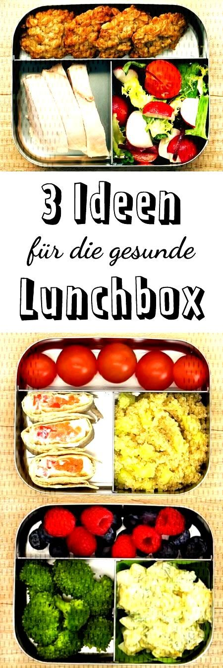 3 healthy ideas for the lunch box - how it works | DELICIOUS - The lunch break is saved! Great hea