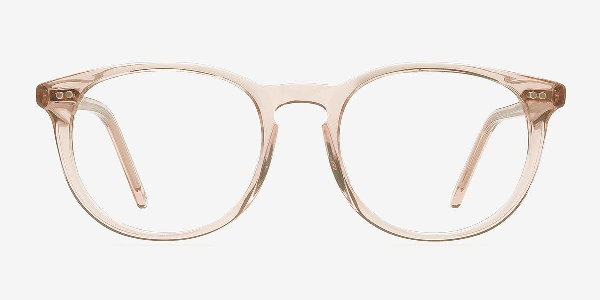 23d716cc185 Aura Champagne Acetate Eyeglasses from EyeBuyDirect. Come and discover  these quality glasses at an affordable price. Find your style now with this  frame.