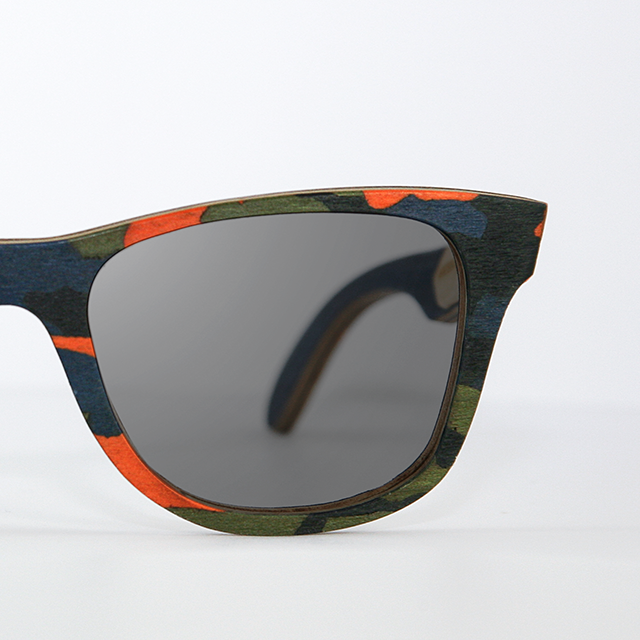 a29bf7631b9f Orange Woodland Camouflage – WOODEN Sunglasses