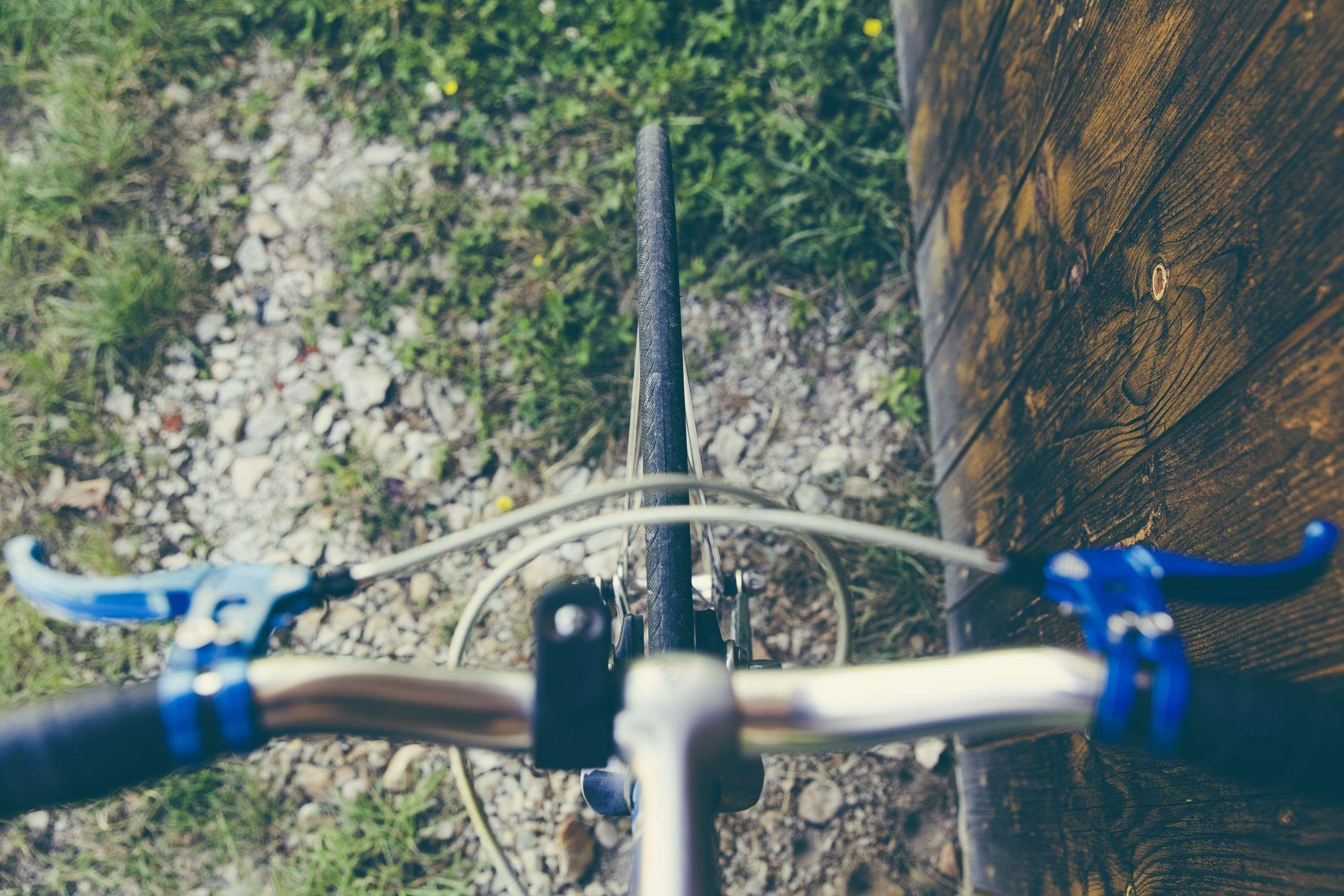 Bicycle Bike Brake Levers Cycle Grass Handle Bar Hardwood