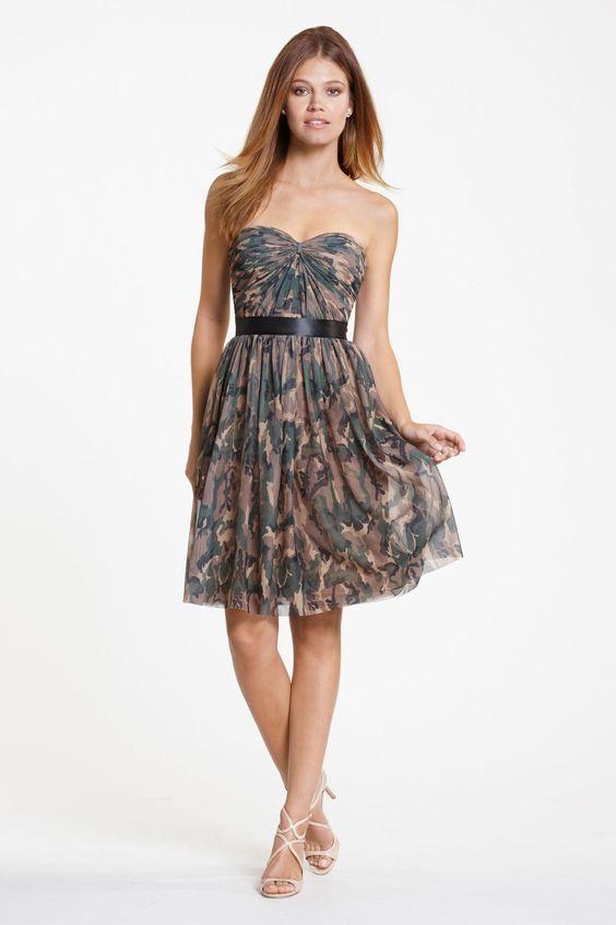 Camo Bridesmaid Dresses Under 100 Jpg 1500 2250