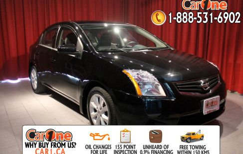 Pre-owned 2012 Nissan Sentra 2.0 CVT @ CarOne Kingston.      Unheard of used vehicle financing starting at 0.9% & oil changes for life on select models! Free CarProof reports on all vehicles along with our standard 100 point inspection & certified on site 155 point inspections.    This 2012 Nissan Sentra 2.0 CVT is waiting and ready to go. Check it out at 1010 Centennial Drive  Kingston, Ontario or http://www.car1.ca.    http://car1.ca/inventory/kingston-2012-nissan-sentra-2-0-cvt-19/