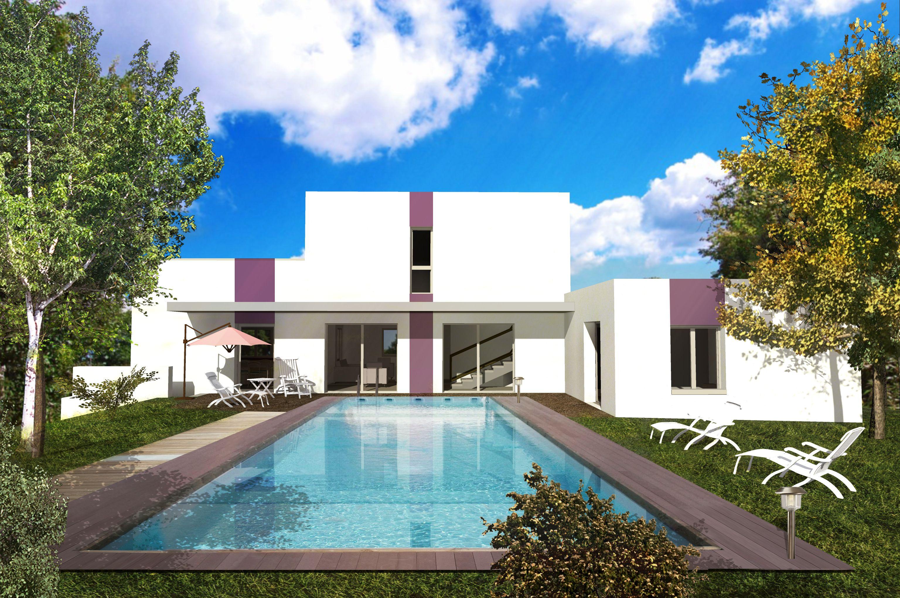 Très originale cette maison contemporaine conçue par larchitecte georges nowatzki est idéale
