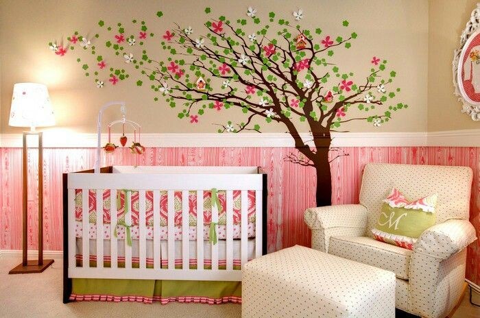 Babyzimmer Girl