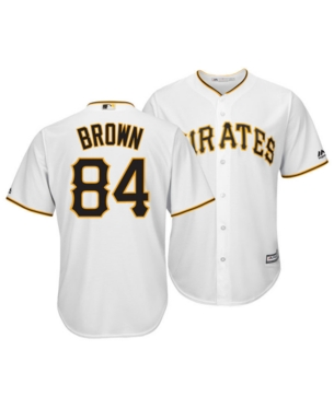 4bd66c4e Men's Antonio Brown Pittsburgh Pirates NFLPA Replica Cool Base ...
