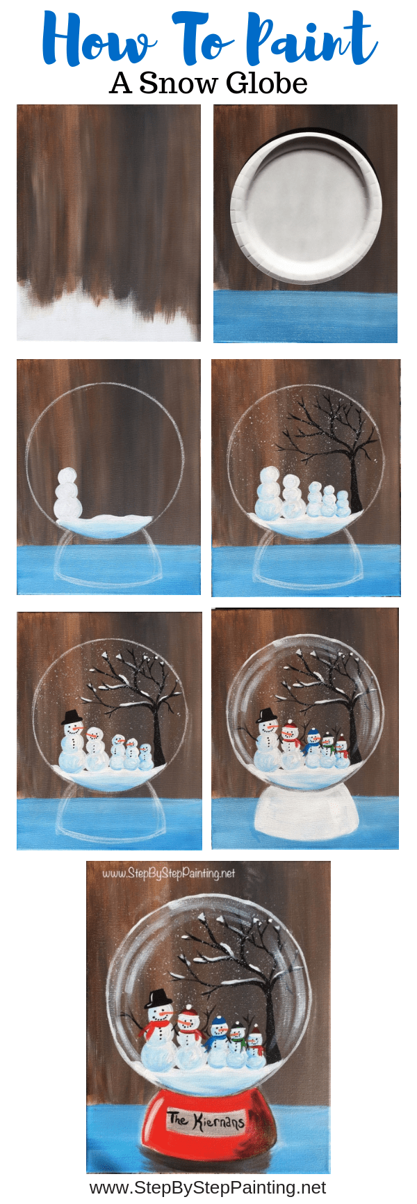 Photo of How to paint a snow globe