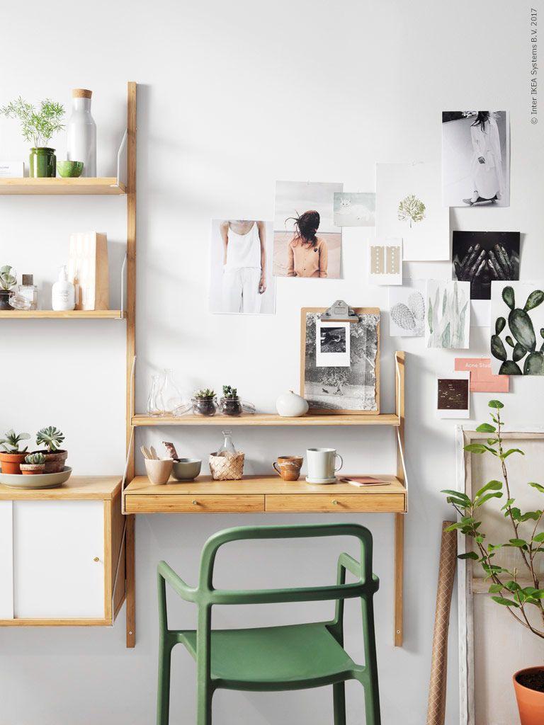 Wenig Platz Für Einen Schreibtisch Mit Unserer Neuen Svälnas Serie