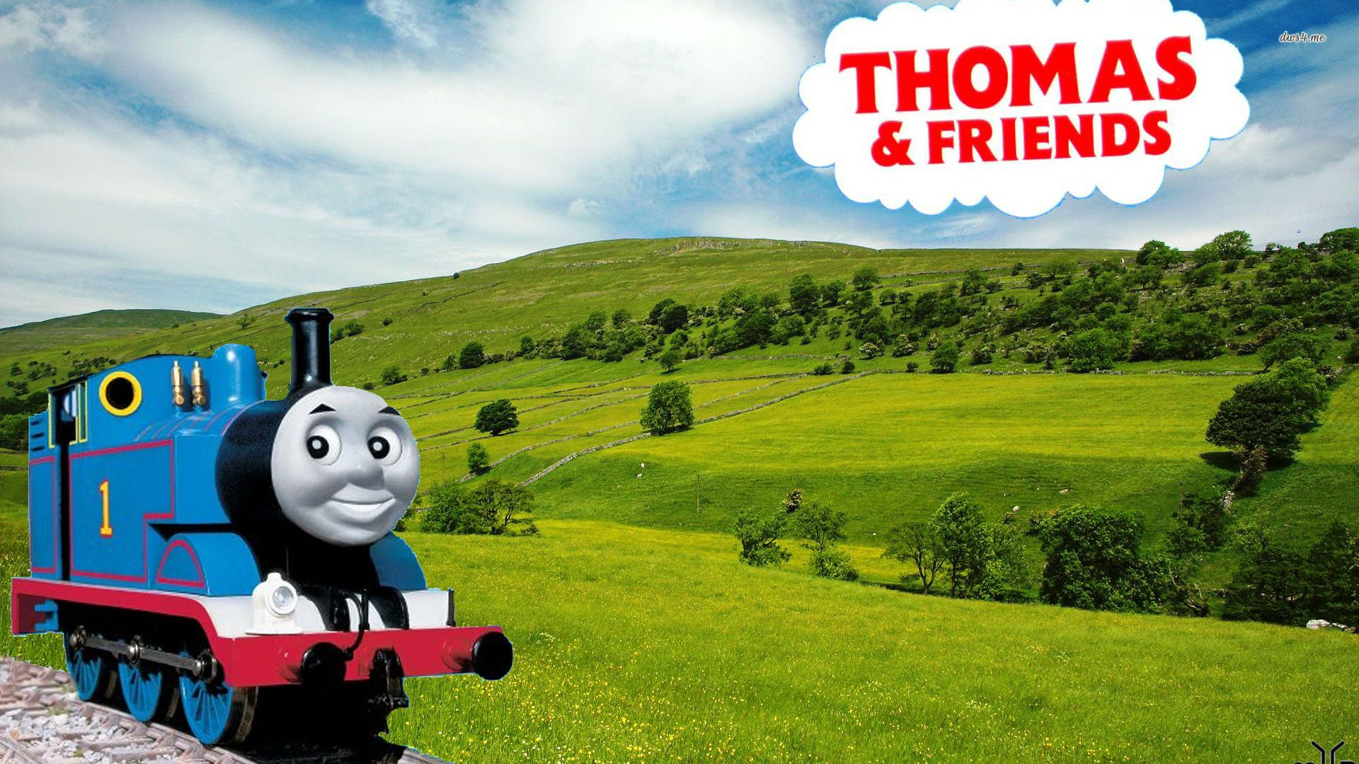 Thomas The Tank Engine Desktop Wallpaper
