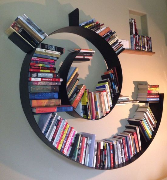 Scott Wise S Bookworm Shelf Created By Ron Arad