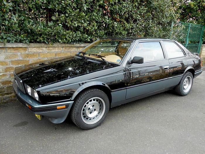 """Maserati - Biturbo Si """"Black edition"""" - 1987(画像あり)   クラシック ..."""