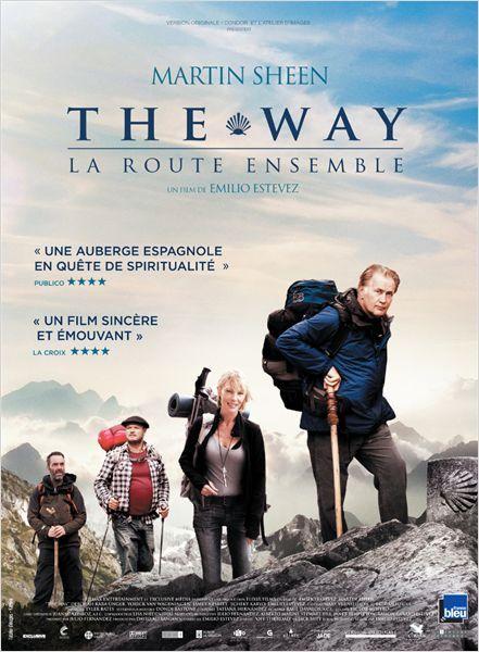 The Way, La Route Ensemble : route, ensemble, Route, Ensemble, Affiche, Martin, Sheen,, Film,, Meilleurs, Films