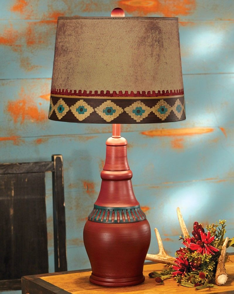 Southwest Style Table Lamps