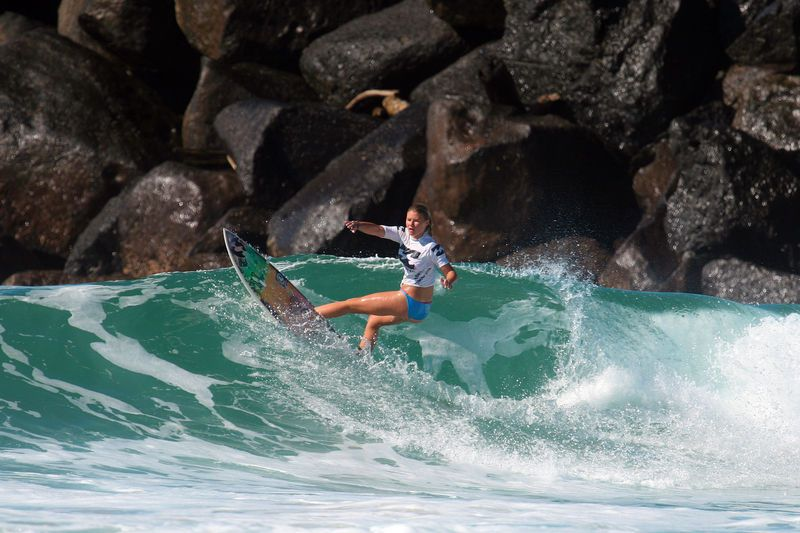 Results from the Occy Grom Comp 2012 - Blog   Billabong Girls Australia