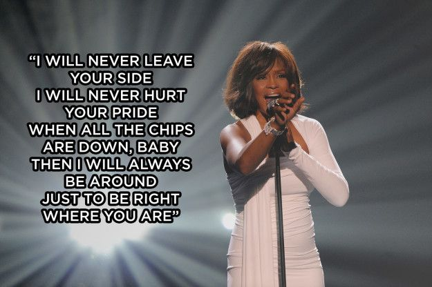 17 Lessons Whitney Houston Taught You About Love