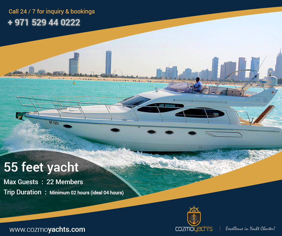 Cozmo Yachts - Excellence in Yacht Charter http://cozmoyachts.com/  #yachtcharter #boatrental #yachtrental #luxuryyachts #yachting #rentayacht #dubai  #fishing #fishingyachtcharter #fishingyachts #luxuryyachtcharter #cozmoyachts  #cozmoyachtsdubai