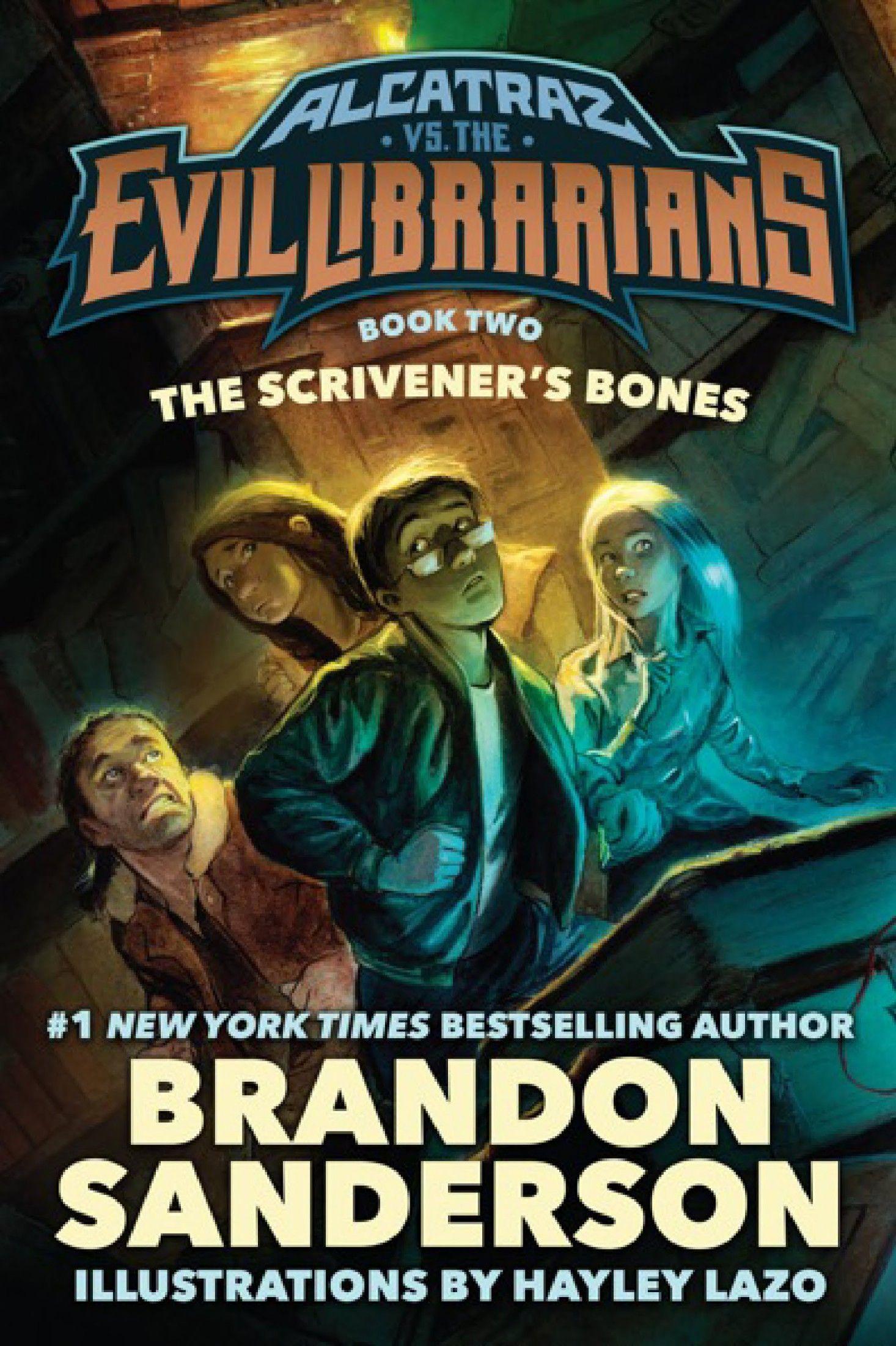 Scrivener S Bones Alcatraz Vs The Evil Librarians The Brandon