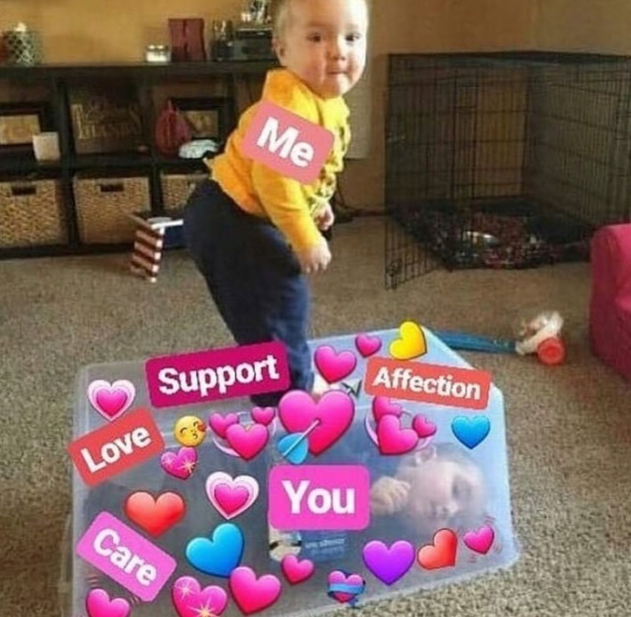 Pin By Annisa Wida On Reaction Pics Cute Love Memes Love Memes Support Meme