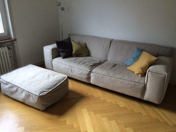 Vesta 3-er Sofa und Hocker u2013 Möbel online kaufen bei Interio