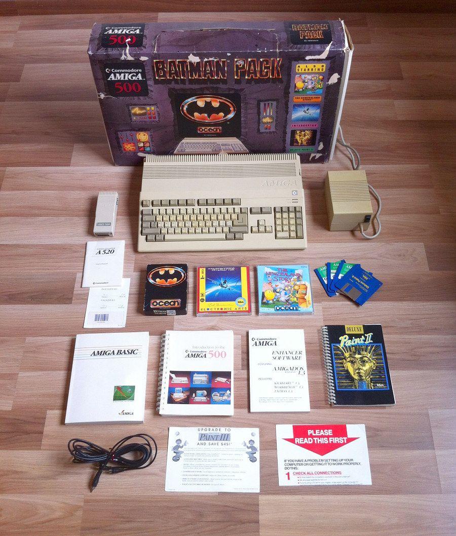 Amiga 500 Batman Bundle | Commodore Retro Computing