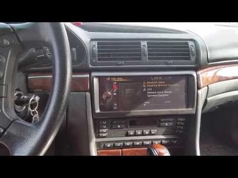 Nbt Idrive Retrofit 2000 Bmw 750il E38 Youtube