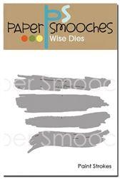 Paint Strokes Dies