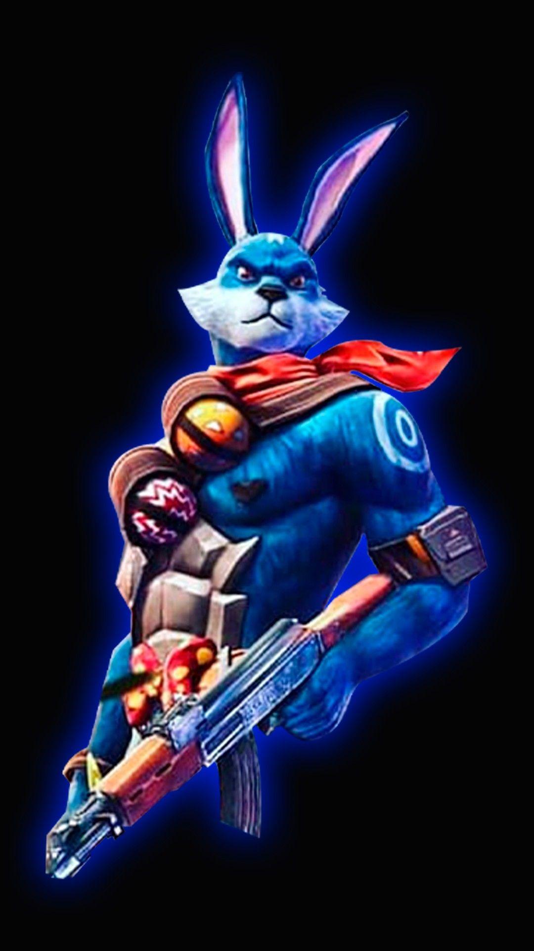 Esta es la nueva skin de conejo guerrero de free Fire | free