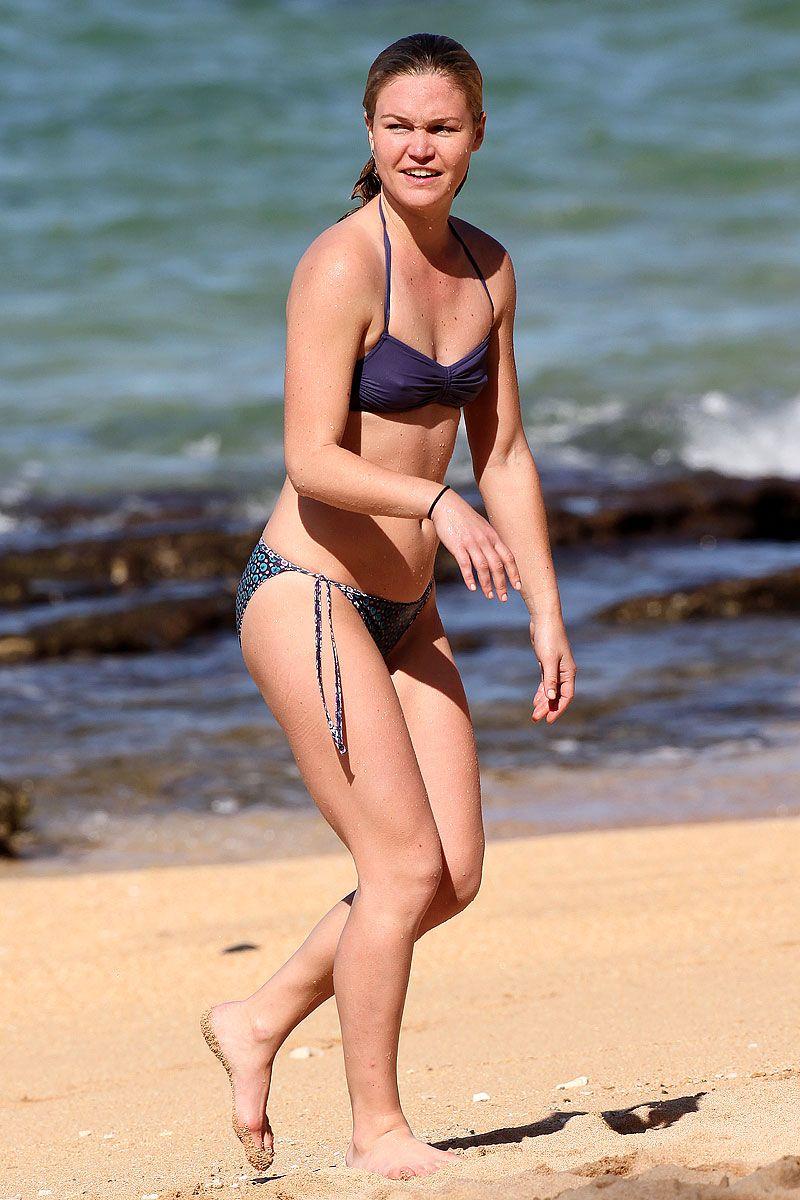 Julia styles bikini pics spending superfluous