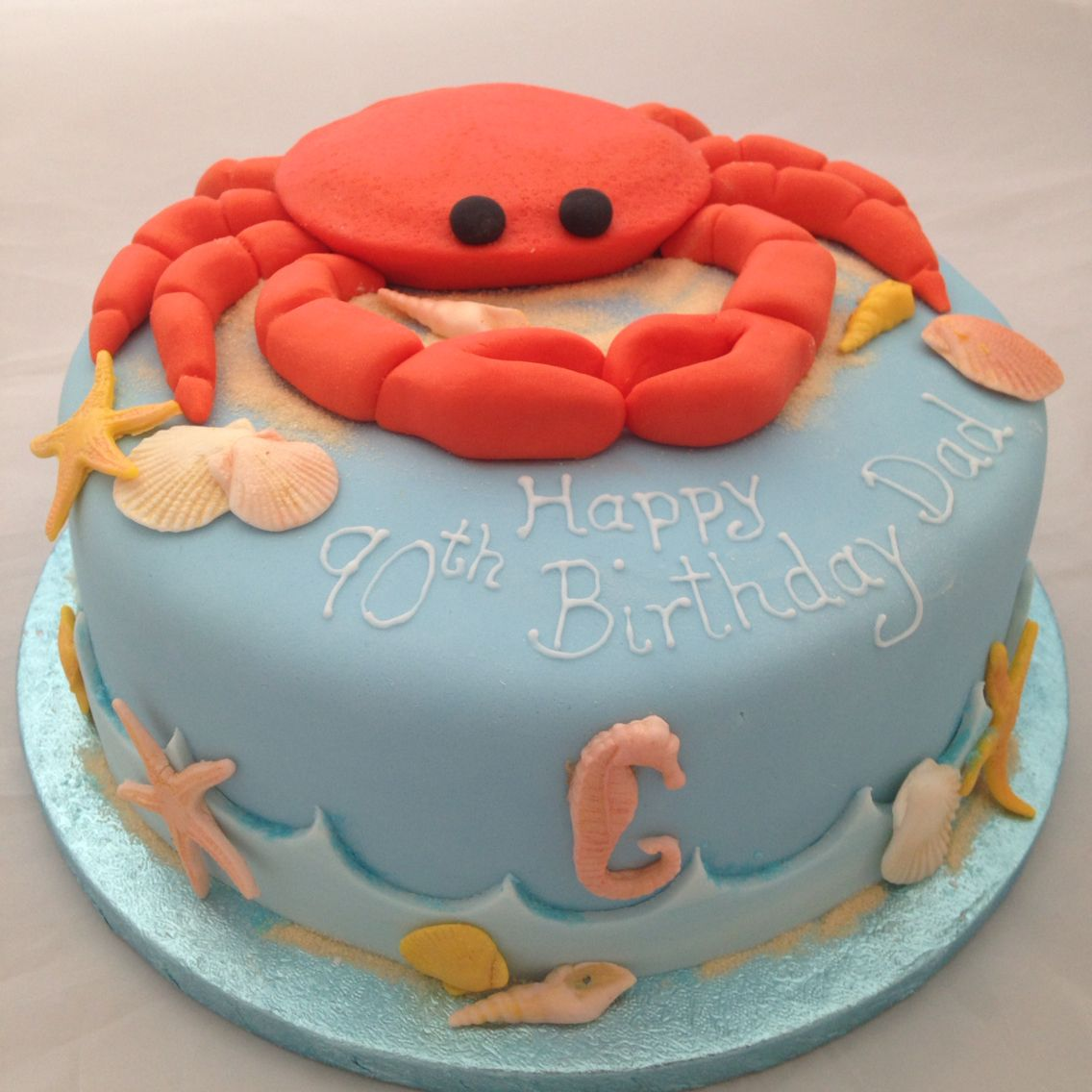 Fantastic Crab Cake With Images Crab Cakes Cake Cake Design Funny Birthday Cards Online Necthendildamsfinfo