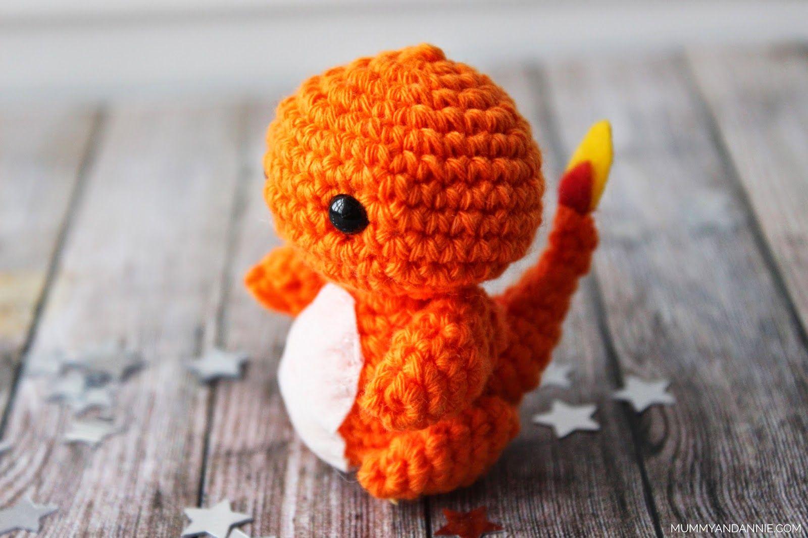 Amigurumi Patrones Gratis En Español : Charmander amigurumi de pokemon patrón gratis en español